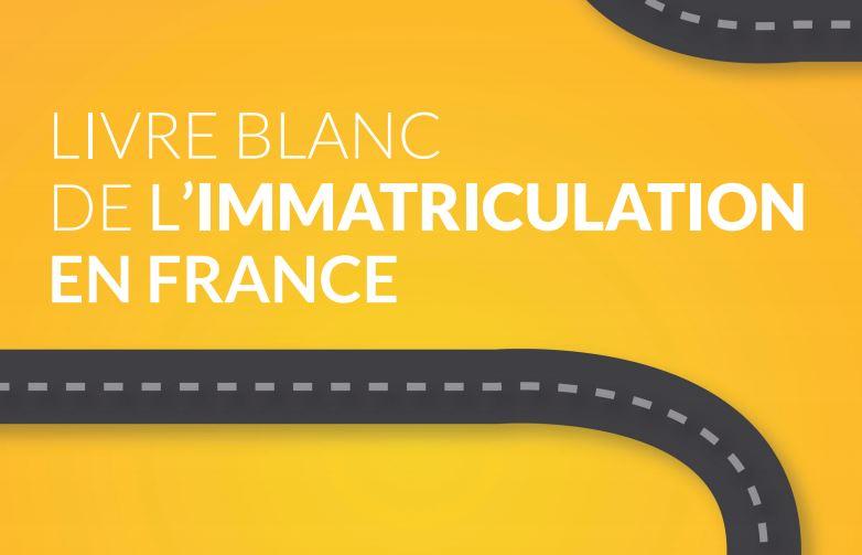 livre blanc de l'immatriculation en France (couverture)